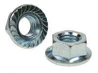 Picture of a DIN 6923 flange nut
