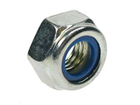 Picture of a DIN 982 nylon insert lock nut